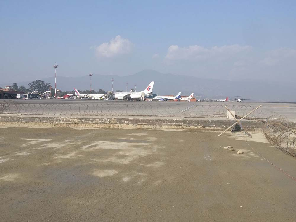 Construction Supervision of Aircraft Parking Area at Tribhuvan International Airport (TIA)
